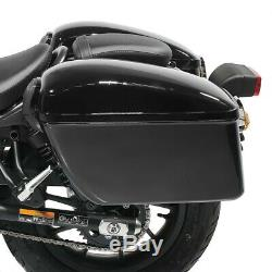 Lateral Hard Saddlebags For Harley Davidson Softail 18-20 Dallas Suitcases Cav