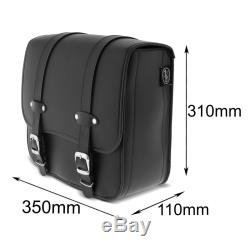 Lateral Saddlebag And Stand For Harley Davidson Softail 18-19 Reno 17l