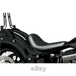 Le Pera Bare Bones Solo Seat Harley Davidson Softail Slim Blackline