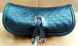 Leather Bag From Windshield Harley Davidson Softail Springer Heritage Classic