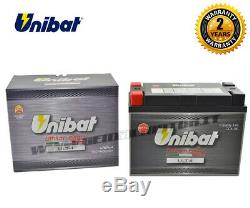 Lithium Unibat Ult4 480a Harley Davidson Flst Cvo (softail) 2010 1802