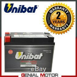 Lithium Unibat Ult4 480a Harley Davidson Heritage Softail Classic 2011