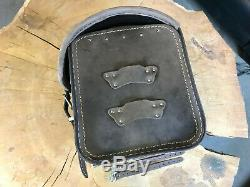 Loki Braun Luggage Suitcase Hd Softail Harley Davidson Sportster Fatbob Streetbob