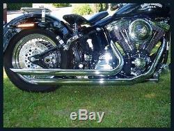 Long Gun Model Longail Exhaust System For Harley Davidson And Custom