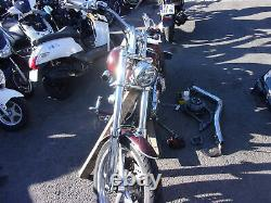 Motorcycle Scooter Crashed Harley-davidson Softail 1584 2008 Rsv Accident N