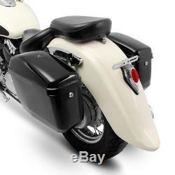 Nevada 20l Saddlebags For Harley Davidson Softail Deuce / Fat Bob / Slim