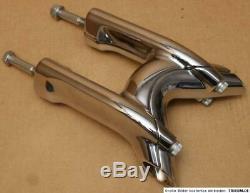 Original Harley Handlebar Riser Chrome Softail Rocker Custom