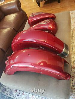 Original Harley Legacy Softail Classic Tank And Fender Set 84 99