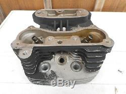 Original Rear Cylinder Head For Harley Davidson 1340 Fxr / Electra / Softail