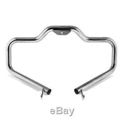 Pare Cylinder Mustache For Harley Davidson Softail 18-20 Stainless Steel