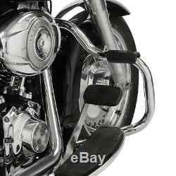 Pare Housing For Harley Davidson Heritage Softail Classic Mustache 00-17 Chrome
