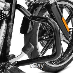 Pare Mustache Cylinder For Harley Davidson Softail 18-19 Black