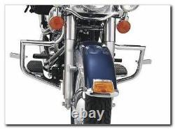 Paropuitous Chrome Engine Guard Harley Davidson Softail Heritage Fat Boy Slim