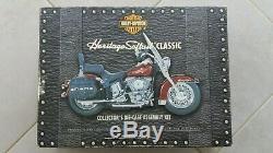 Rare Case Kit Harley Heritage Softail Mount Franklin Mint 2000