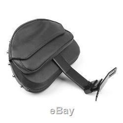 Rider Backrest Pad For Backsplash 07-17 Flstf Heritage Softail F Bk En