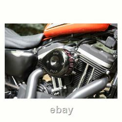 S & S Mini Black Tear Stealth Air Filter Kits Harley-davidson Softail Dyna