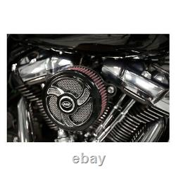 S & S Stealth Air Filter Torker Black F. Harley-davidson Softail/touring 18-20