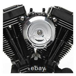 S&s Stealth Air Filter Bobber Di. F. Harley Davidson Softail, Dyna Touring