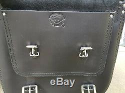 Saddle Bag Bags The Big Harley Davidson Softail Fatboy 2018
