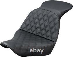 Seat Explore Ls Two-up Lattice Black Harley Davidson Abs Softail Flsb Spor