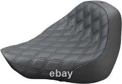 Seat Renegade-ls Solo Black Harley Davidson Abs Softail Fat Boy Flfbs Sa