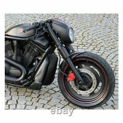 Set Cover Cover Fork Fork Hoses Harley Davidson V-rod Vrod 2007-2011