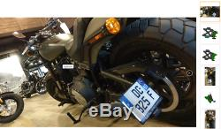Side Plate Holder Harley-davidson Softail Fat Bob 107-114 2018/2019 Mad