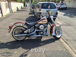Silent Escape Back Harley Davidson 1989- Softail Heritage 65382-89a