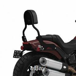Sissy Bar CL For Harley-davidson Softail Fat Bob 114 18-19 Black
