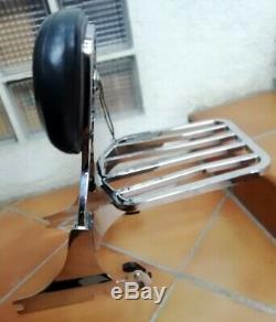 Sissy Bar Comfort & Clip-door Baggage Harley Davidson Softail Springer