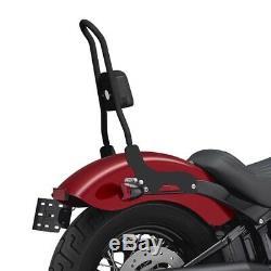 Sissy Bar Csl For Harley Davidson Softail Slim 18-19 Black