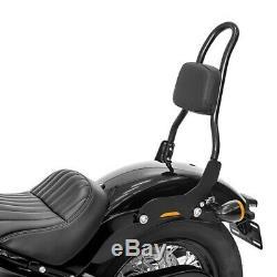 Sissy Bar Csm For Harley Davidson Softail Street Bob 18-19 Black