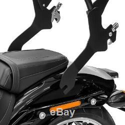 Sissy Bar Harley Davidson Softail Low Rider / S 18-20 Black Css