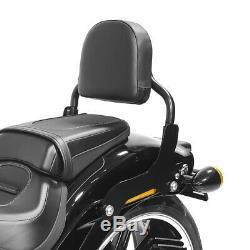 Sissy Bar Harley Davidson Softail / Sport Glide 18-20 Black Css