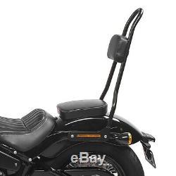Sissy Bar Harley Davidson Street Bob Softail 18-20 Black Craftride Srl