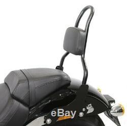 Sissy Bar Msc For Harley-davidson Softail Low Rider 18-20 Black