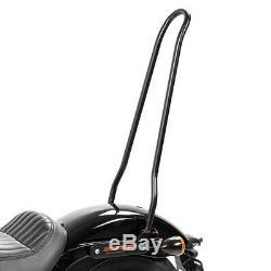 Sissy Bar XL For Harley Davidson Softail 18-20 Black Srl Street Bob
