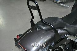 Sissybar Amovible Black Harley Davidson Fxb Softail In Small Groups Year 2015