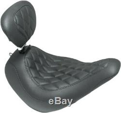 Solo Seat Dbr Wdtrpr Diam Harley Davidson Softail Abs Low Rider Flsb Mustang