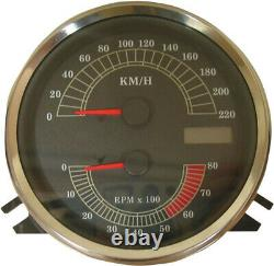 Speedo-count-electronic Towers Km/h Harley Davidson Softail Drag Spec