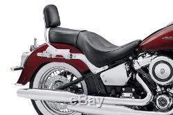 Sundailer Harley-davidson Softail Dual-seat 2018 Black Leather