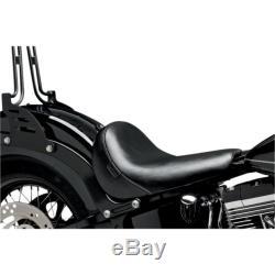 The Pera Bare Bones Solo Saddle Harley Davidson Softail Slim Blackline