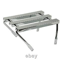 Three Canal Baggage Holder, Chrome, For Harley Davidson, Softail 86 06