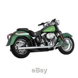 Vance & Hines True Dual Exhaust Harley Davidson Softail 1987-2011