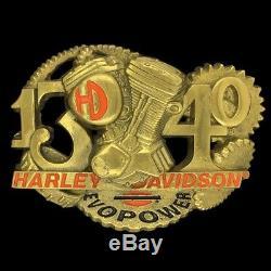 Vintage Harley Davidson 1340 Evo Fx Flx Fxr Fatboy Softail Fxs Engine