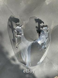 Windscreen And Clip-lockable (keys) Harley Davidson Softail
