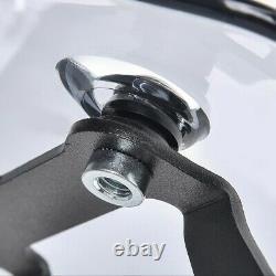 Windscreen For Harley Davidson Softail Custom Fb2 Smoked Grey
