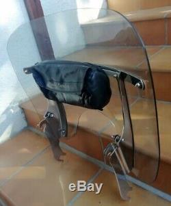 Windscreen Short Clip-on Origin Harley Davidson Softail Twin Cam