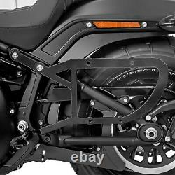 XL Bag Holder For Harley Softail Slim 18-21