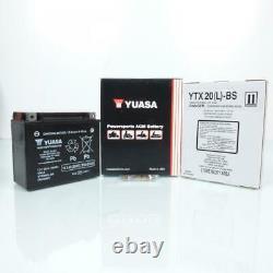 Yuasa Battery For Moto Harley Davidson 1450 Fxstd Softail Deuce 2000 To 2005